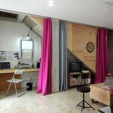 Modern Home Office Hidden Office