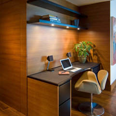 modern home office by Studio Becker- Bespoke Cabinetry and Millwork