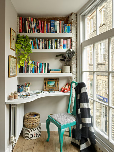Contemporary Home Office by Romilly Turner Interior Design