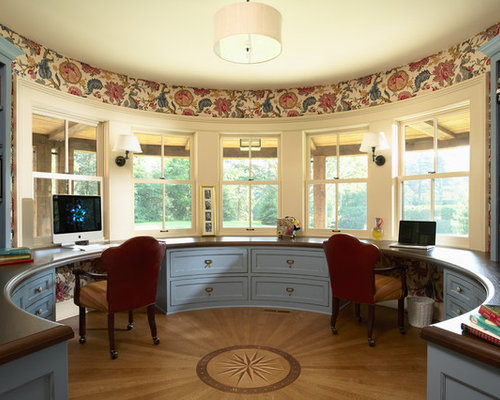 home office for two | houzz