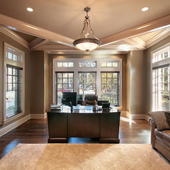 traditional home office by Birchwood Builders LLC