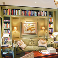 Traditional Home Office by J Wilson Fuqua & Assoc. Architects