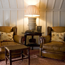 Traditional Home Office by Debby Hall