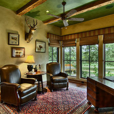 Traditional Home Office by Amanda Still, Hill Design + Gallery