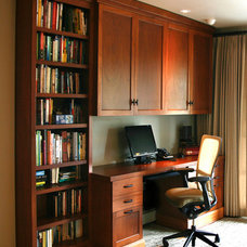 Traditional Home Office by Hammer & Hand