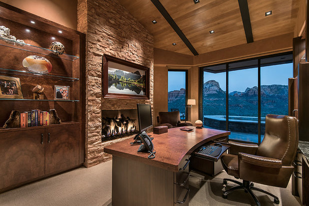 Southwestern Home Office by Design Directives, LLC