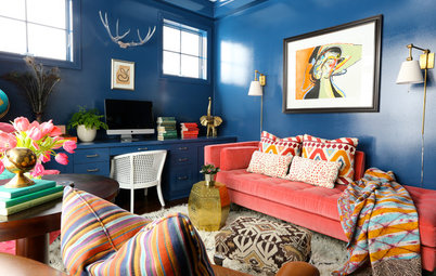 Move Over, Neutral Sofa — Here Comes Color