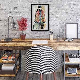 """""""Hippie Girl"""" Framed Painting Print"""
