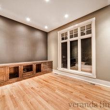 Contemporary Home Office by Veranda Estate Homes & Interiors