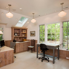 Traditional Home Office by Worthington Custom Builder Inc.