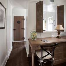 Traditional Home Office by Vallone Design