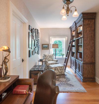 Traditional Home Office by Davitt Design Build, Inc.