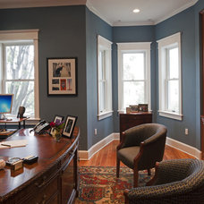 Traditional Home Office by Bowers Design Build