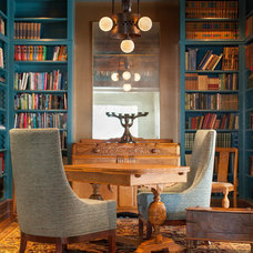 Traditional Home Office by Holland & Knapp Construction