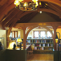 traditional home office by Archer & Buchanan Architecture, Ltd.