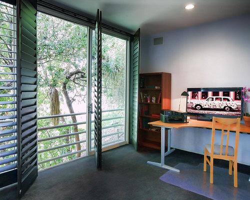 Zen Home Office Design Ideas Renovations Photos