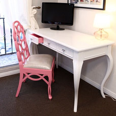 Eclectic Home Office by Finished by Design