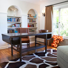 contemporary home office by Laura U, Inc.