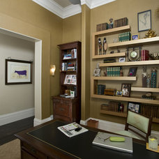 Contemporary Home Office by Peg Berens Interior Design LLC