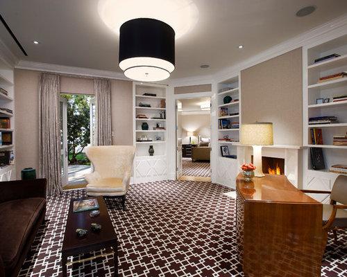 Patterned Carpet Houzz