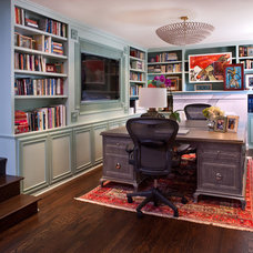 transitional home office by Elizabeth Gordon