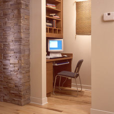 Contemporary Home Office by Hill Custom Homes
