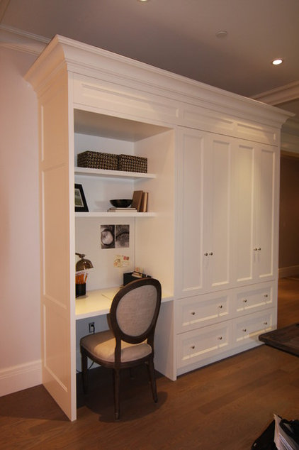 Traditional Home Office by Arts Custom Woodcrafting Inc.