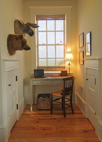 Traditional Home Office by Alix Bragg Interior Design