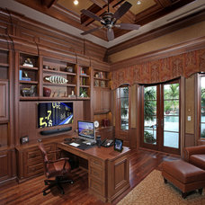 Traditional Home Office by Audio Concepts