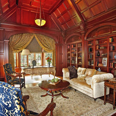 Traditional Home Office by RSVP Design Services