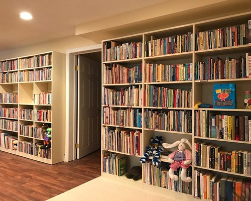 Home Library Shelves And Storage