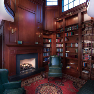 Home Library with an Upper Cupola Octagon & Belvedere