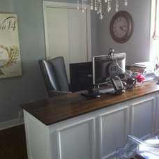Eclectic Home Office by Rebecca Mitchell Interiors & Boutique