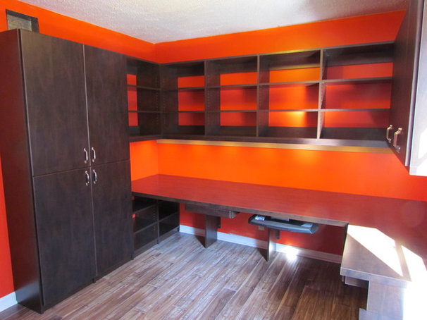 Contemporary Home Office by Atlanta Closet & Storage Solutions