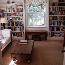 Traditional Home Office by Amy Birdsong