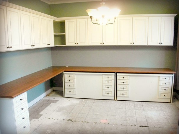 Traditional Home Office by California Closets of Indianapolis