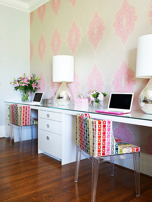 Superb Two Desks In One Room Ideas Pictures Remodel And Decor Largest Home Design Picture Inspirations Pitcheantrous