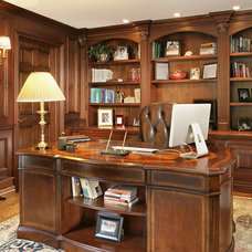 Traditional Home Office by Craig Custom Builders