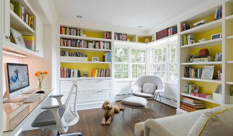 Alegra tu oficina en casa con estas plantas de interior