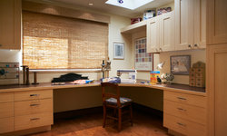 Home office and residential work spaces