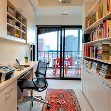 contemporary home office by Andrea Swan - Swan Architecture