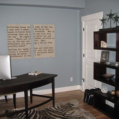 contemporary home office by Aneka Interiors Inc.