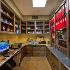 Contemporary Home Office by Arizona Designs Kitchens and Baths