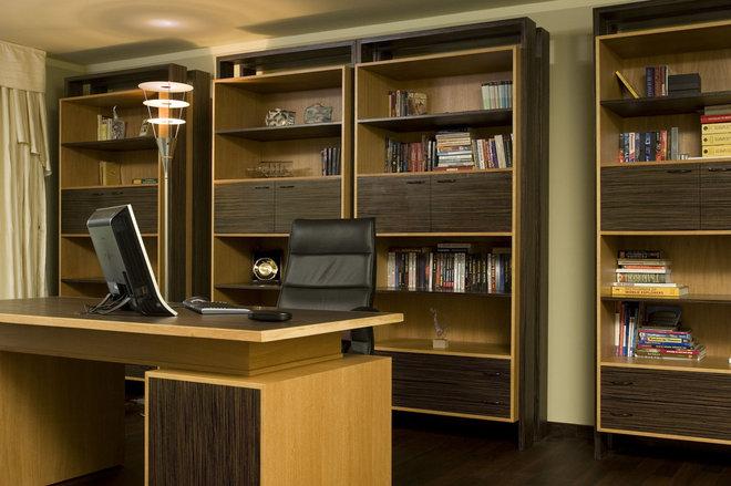Modern Home Office by Angel Mangarakov