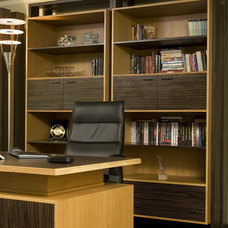 Contemporary Home Office by Angel Mangarakov