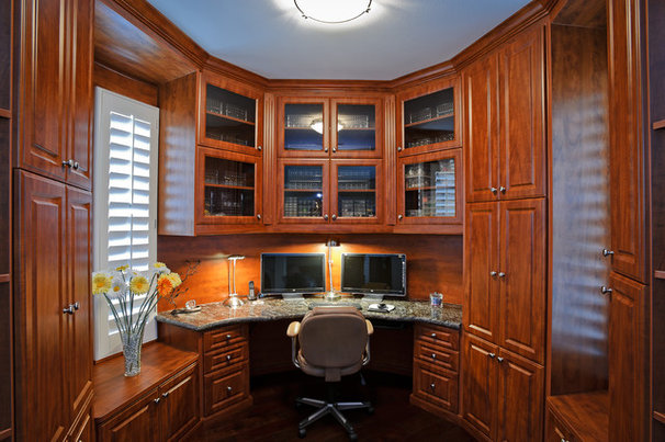 Traditional Home Office by Bay Home & Window