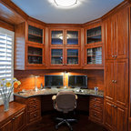 Home Office Contemporary Home Office Phoenix By