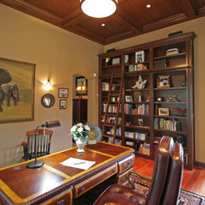 Traditional Home Office by BeeTree Homes