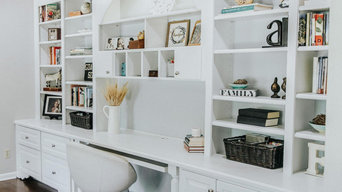 Home Office Built-In Cabinetry