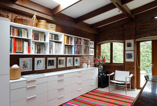 Contemporary Home Office by Carolina Katz + Paula Nuñez